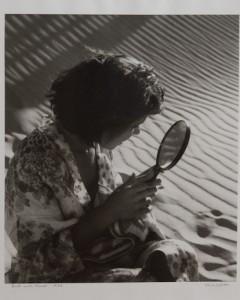 Olive Edith Cotton mirror